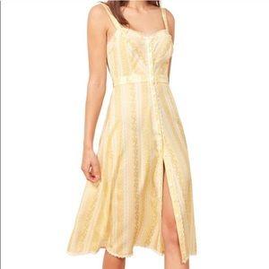 Reformation Sandlewood Midi Dress